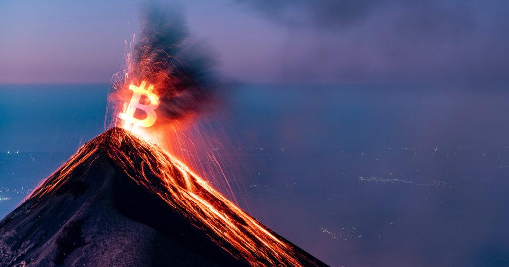 Bitcoins minen op een vulkaan?!